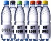 flaske 0,5l med farvet låg